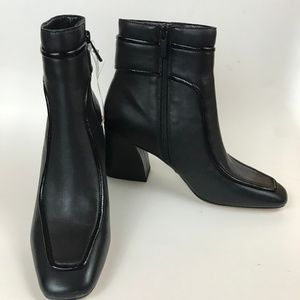 New Donald J Pliner Black Geena Leather Boots